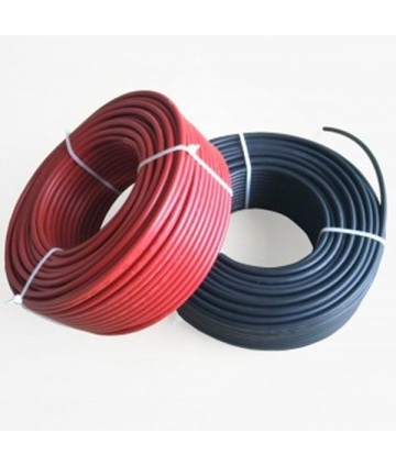 Cable Solar 1x6mm 0,6/1 Kv...